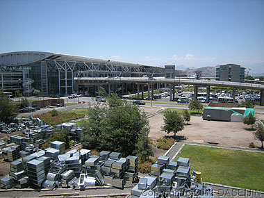101226真夏のサンティアゴ空港