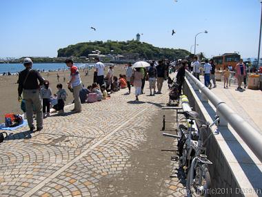 120505江ノ島ツーリング・江ノ島へ