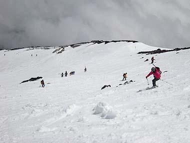 090523富士山滑降