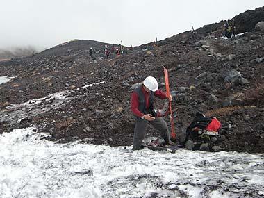 090523富士山滑降終了点2