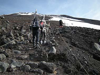 090523富士山6.5合目