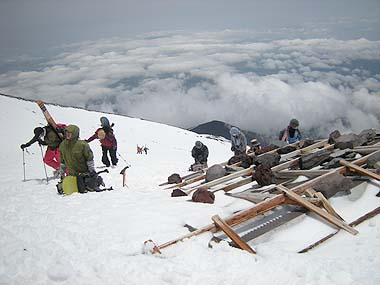 090523富士山9.5合目1