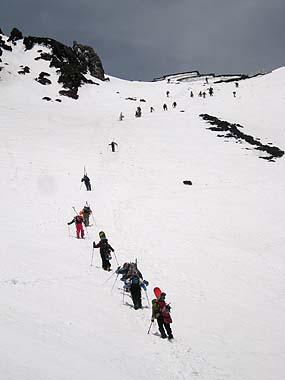 090523富士山9.5合目2