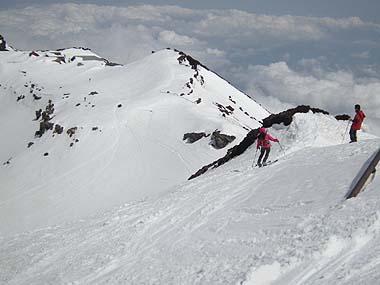 090523富士山剣ヶ峰滑降