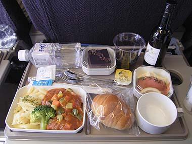 機内食・全日空