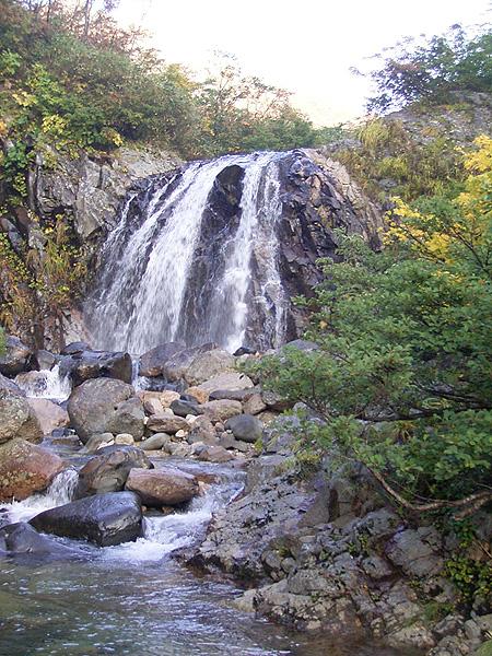 061015ナルミズ沢の滝