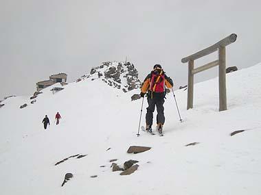 080413御嶽山頂上直下