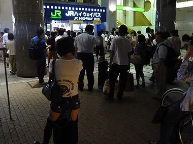 080815新宿バスターミナル