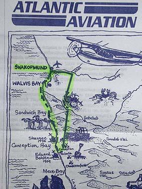 090429ナミビアの地図
