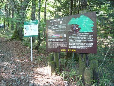 090627三つ峠登山口