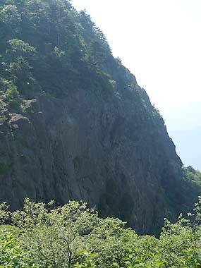 090627三つ峠岩壁