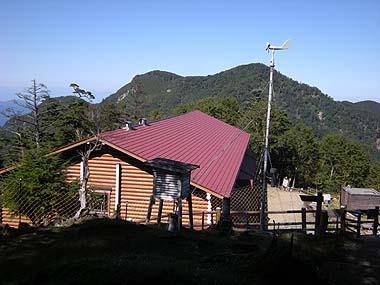 090920雲取山荘