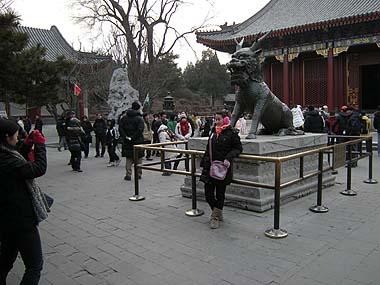 100101頤和園麒麟銅像