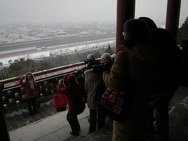 100102北京景山公園での撮影