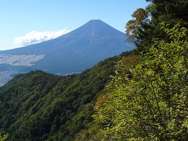 101011三ッ峠から富士山