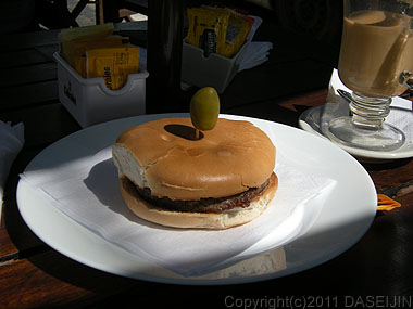 101230エル・カラファテ、ハンバーガー