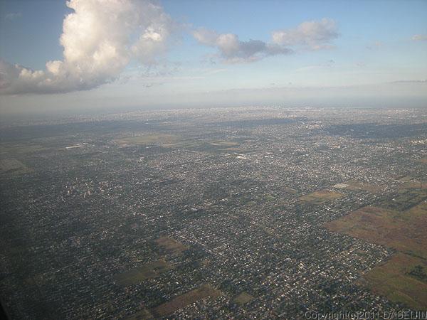 110109上空からのブエノスアイレス