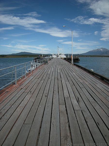 110101プエルト・ナタレス、ウルティマ・エスペランサ湾桟橋