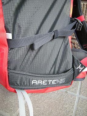 110705バーグハウス・ARETE45のスキーストラップ