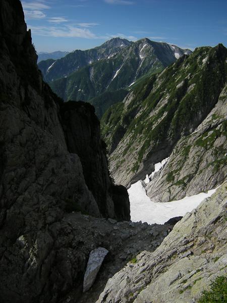 110815五六のコルと立山