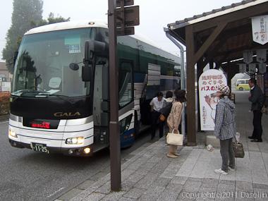 110929遠野駅に下り立つ