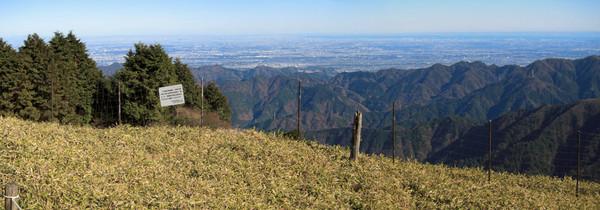111204丹沢・関東平野の眺め