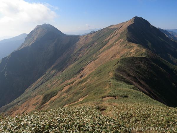 111104谷川岳・国境稜線へ