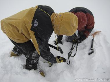 111125立山スキー・ビーコン訓練