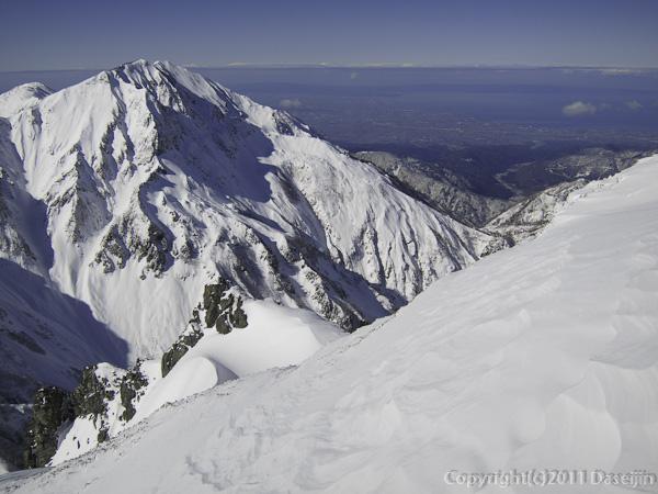 111126立山スキー・大日岳と能登半島
