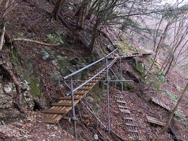 120226桧洞丸登山道前半