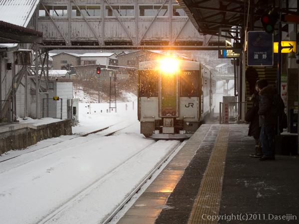 120212遠野駅から花巻へ
