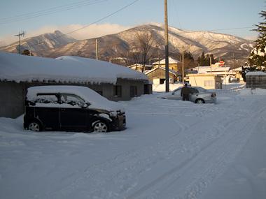 120205遠刈田から蔵王連峰