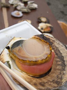 120318唐桑復興祭・超美味ホタテ焼