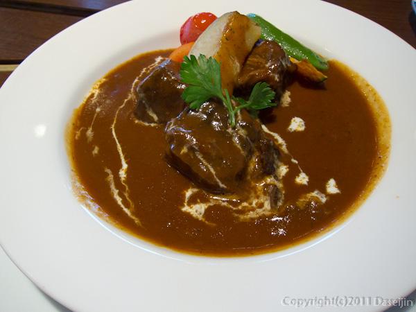 120403熊本・馬肉料理菅乃屋ほほ肉のシチュー