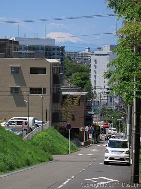 120505江ノ島ツーリング・東戸塚から富士山