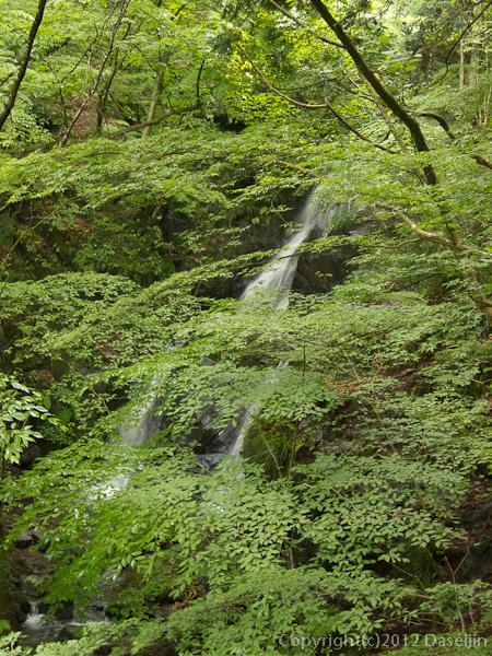 120701棒ノ嶺・白谷沢の滝