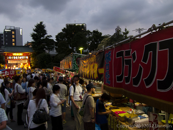120709ほおずき市・縁日