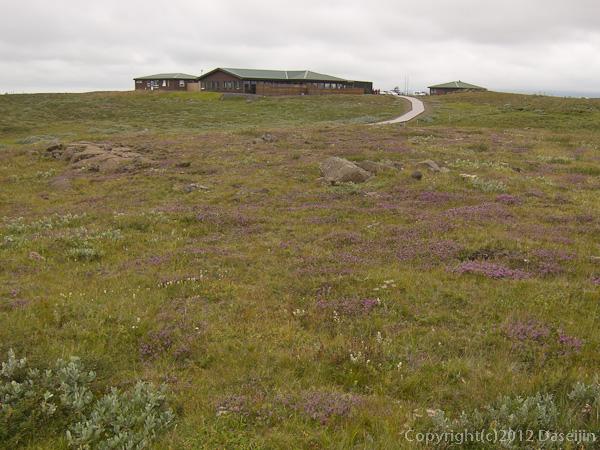 120805アイスランド、グリーンランドの旅・グトルフォスのカフェ