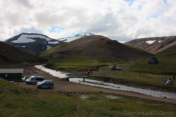 120805アイスランド、グリーンランドの旅・アウスガルズル小屋