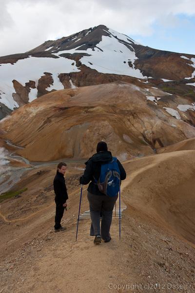 120805アイスランド、グリーンランドの旅・ケルリンガールト、レック開始