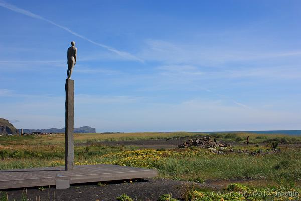 120806アイスランド、グリーンランドの旅・Vikのオブジェ