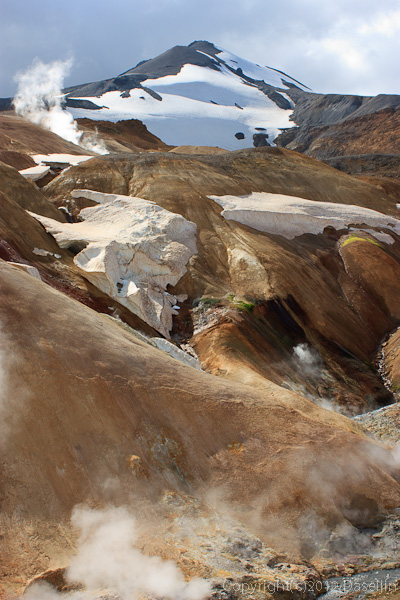 120805アイスランド、グリーンランドの旅・ケルリンガール、メイビー氷河