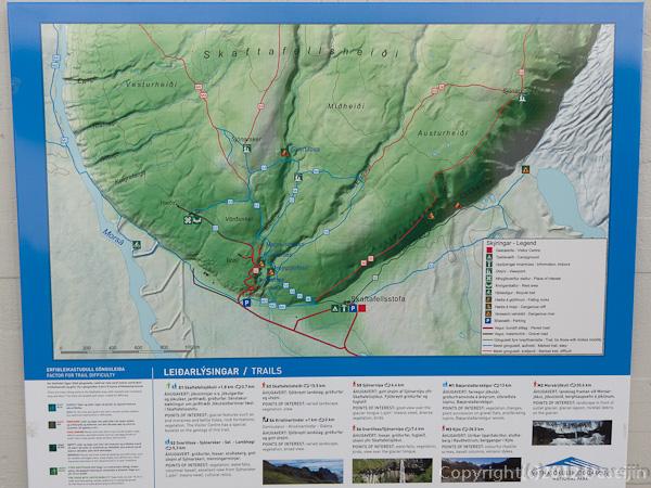 120806アイスランド、グリーンランドの旅・スカフタフェットルの地図2