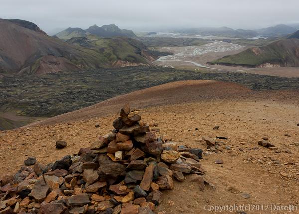 120809アイスランド、グリーンランドの旅・Brennisteinsalda山頂