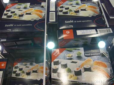 120810アイスランド、グリーンランドの旅・イルリサットの寿司