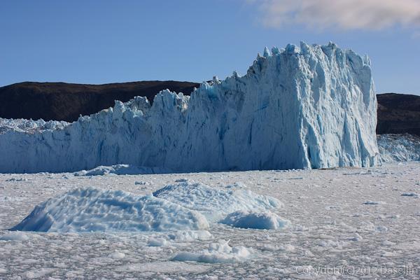 120812アイスランド、グリーンランドの旅・氷河の岬