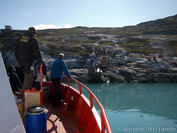 120812アイスランド、グリーンランドの旅・Camp Eqi