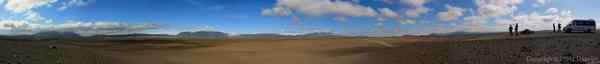 120805アイスランド、グリーンランドの旅・ハイランドパノラマ